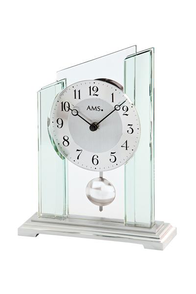 シンプルなデザイン置き時計。AMS1168