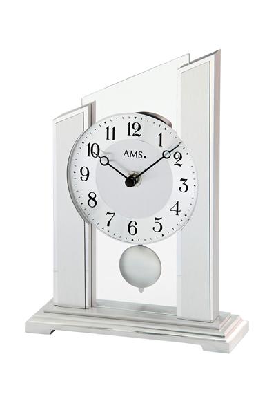 シンプルなデザイン置き時計。AMS1169