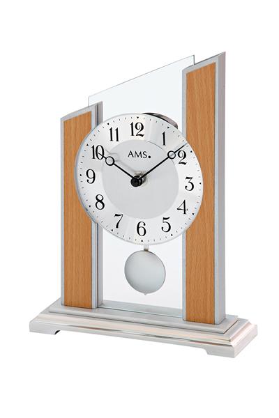シンプルなデザイン置き時計。AMS1170
