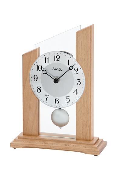 シンプルなデザイン置き時計。AMS1171