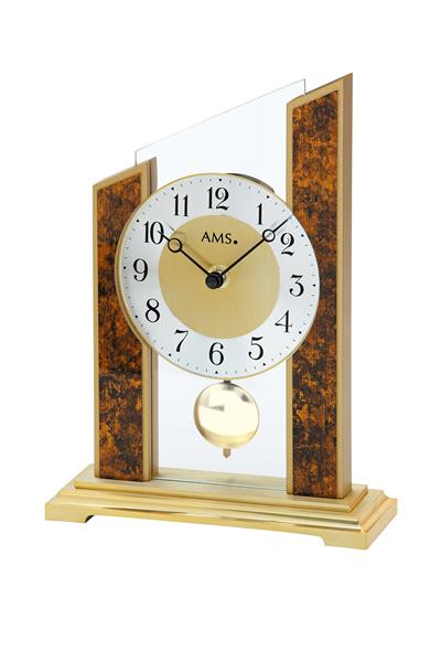 シンプルなデザイン置き時計。AMS1172