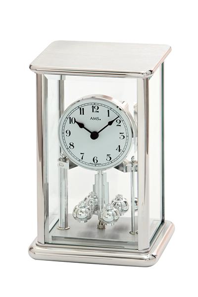 回転振り子スケルトン高級デザイン置き時計。AMS1210