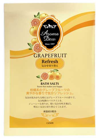 アロマデュウ バスソルト グレープフルーツの香り
