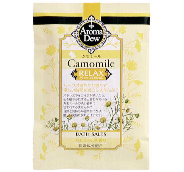 アロマデュウ バスソルト カモミールの香り 25g AR-S1CM