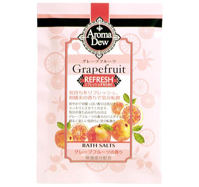 アロマデュウ バスソルト グレープフルーツの香り 25g AR-S1GF