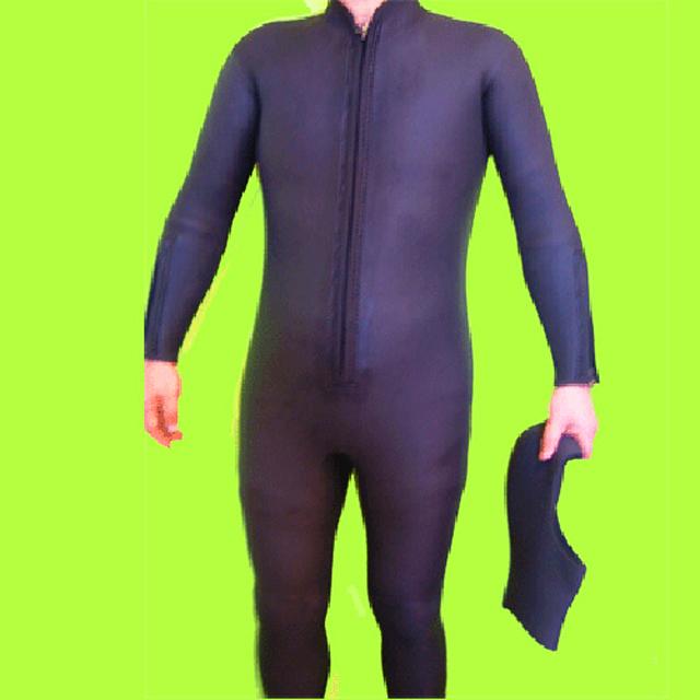 【特価】クロッツ ダイビング 2点セット メンズ(フルスーツ/ダイブフード) 5mm S/J(シャークスキン/ジャージ) O体 フロントファスナー