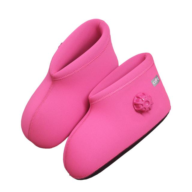 クロッツ やわらか湯たんぽ 足用ショートタイプ ピンク (限定色)