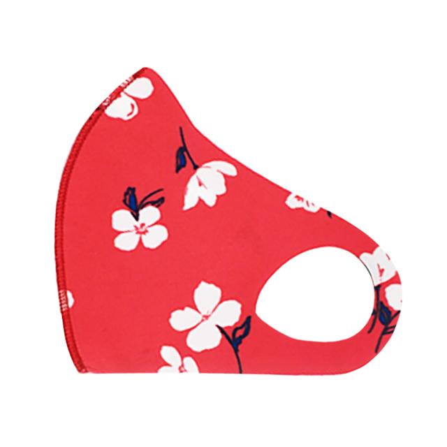 クロッツ マスク カラー/021 レッドフラワー (柄物/1枚入)