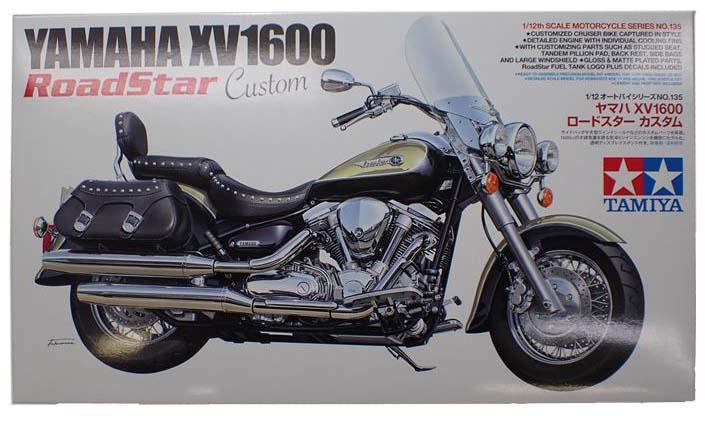 item14135 YAMAHA XV1600RoadStar Custom   1/12scale オートバイシリーズNo135