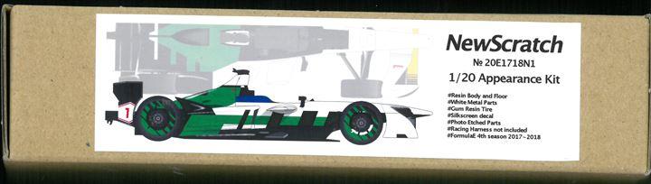 20E1718N01 FormulaE フォーミュラーE 2017-18 #01 チャンピオンマシン1/20scale kit