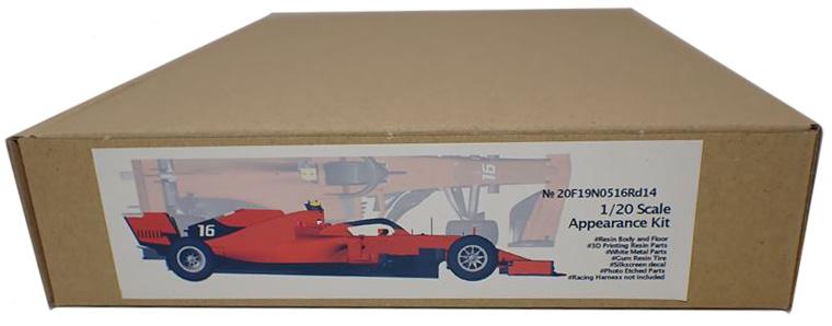 20F19N0516Rd14  2019 F1 ItalianGP 3D PrintKit 1/20scale Appearance Kit  (NewScratch)