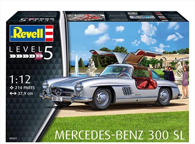 revell07657  1/12 MERCEDES-BENZ 300SL (GermanyRevell)