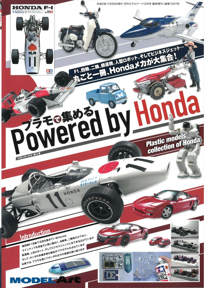 プラモで集める Powerd by Honda (モデルアート)
