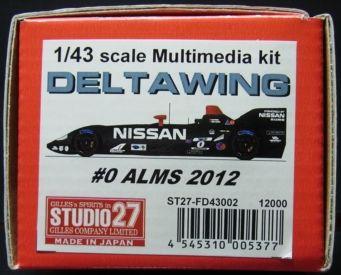 FD43002  DELTA WING #0 ALMS 2012  1/43scale Multimedia kit