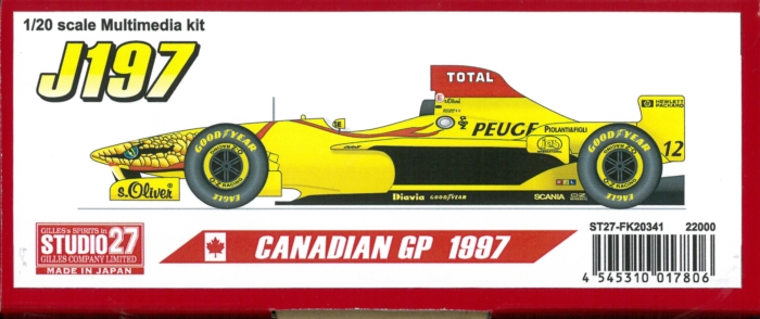 FK20341  J197 CANADIAN GP 1997 1/20 scale Multimedia kit