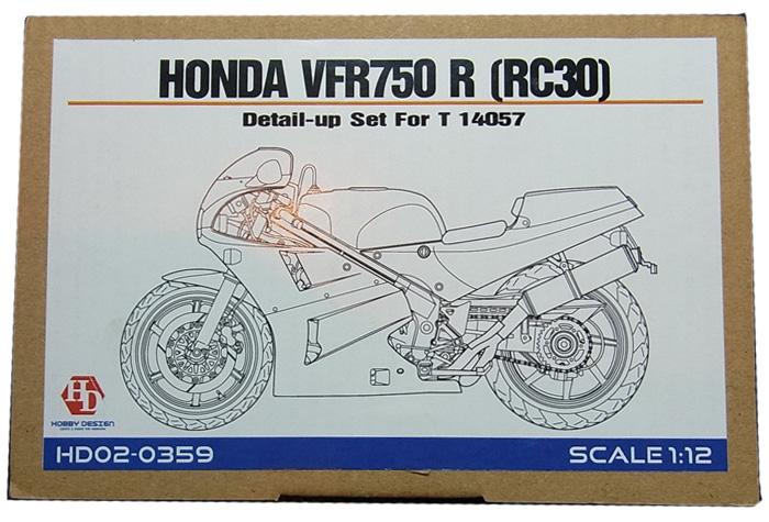 HD02-0359 1/12 HONDA VFR750 R 〔RC30〕 1/12 T社 14057