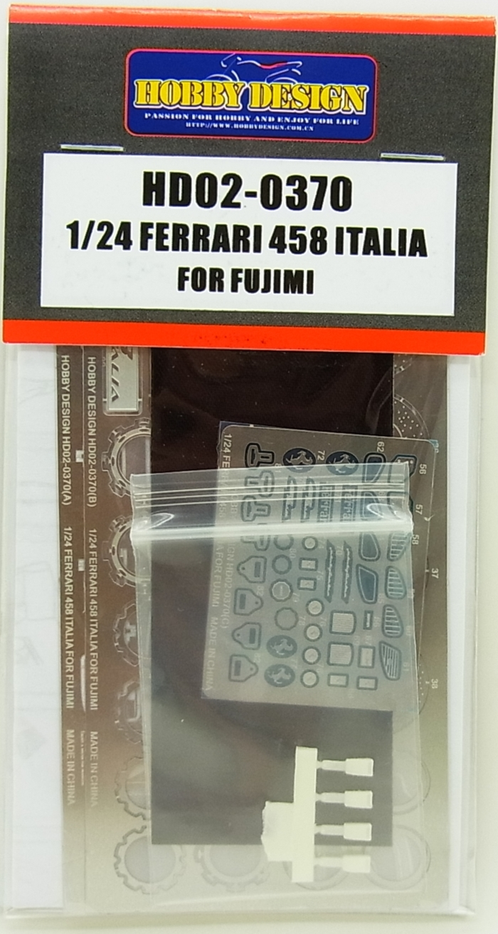 HD02-0370 1/24 FERRARI 458 ITALIA (FOR FUJIMI)