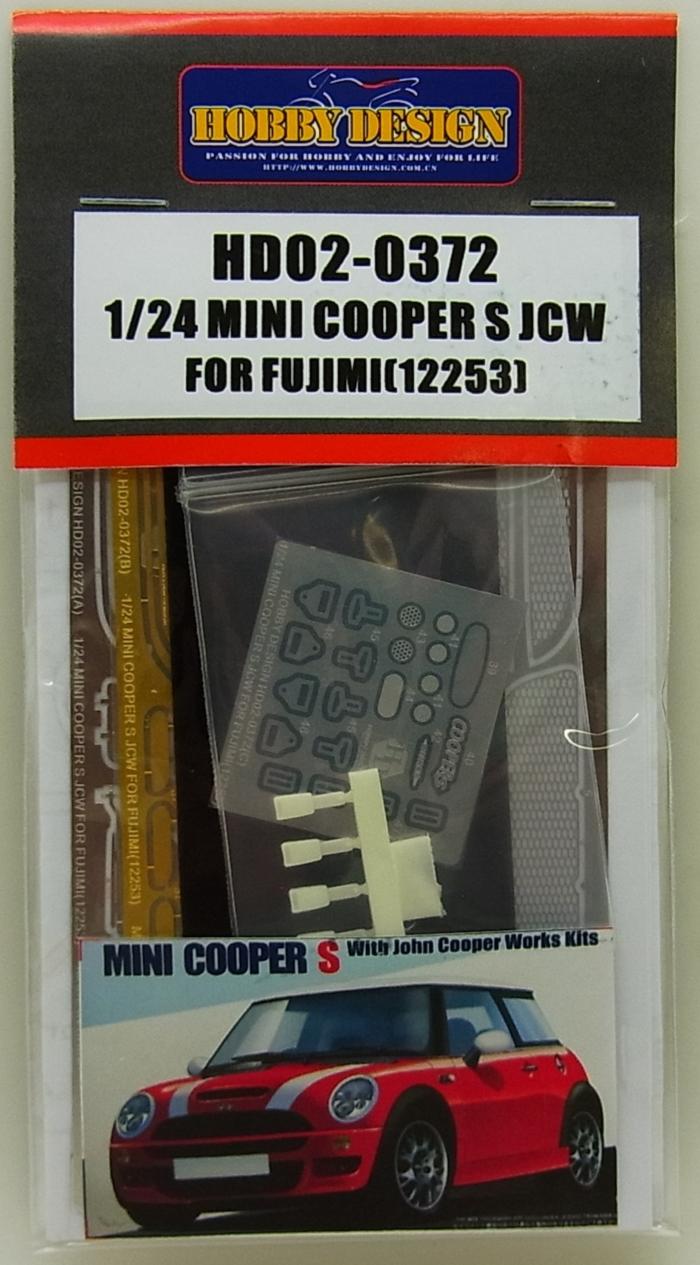 HD02-0372 1/24 MINI COOPER S JCW (FOR FUJIMI12253)