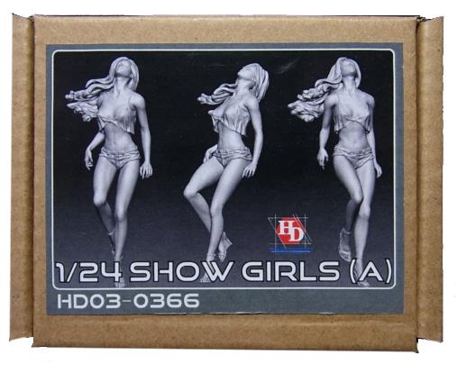 HD03-0366 1/24 ショーガールフィギュア Show Girls(A) Hobbydesign