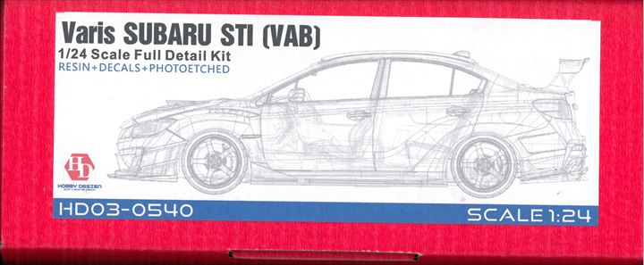 HD03-0540 Varis SUBARU STI (VAB) 1/24scale Full detailkit