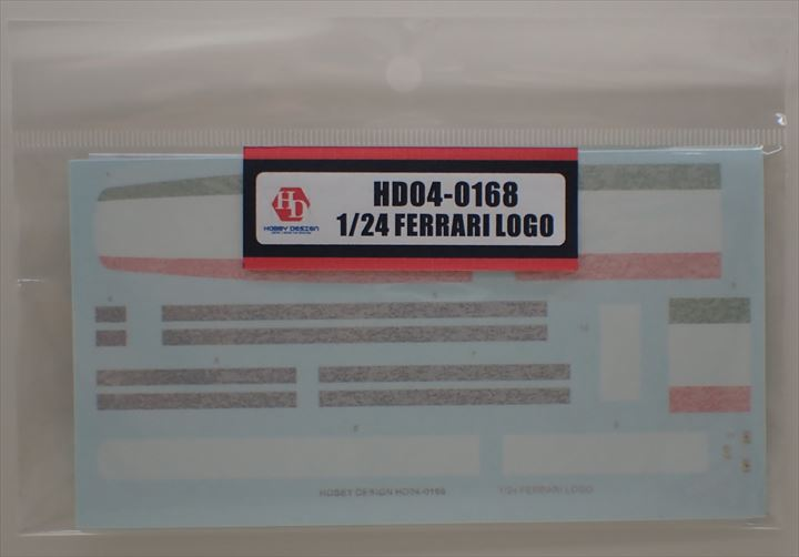 HD04-0168 1/24 FERRARI LOGO Hobbydesign