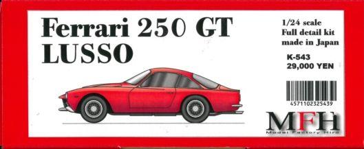 K543 Ferrari 250 GT Lusso  1/24scale Multi-Material Kit