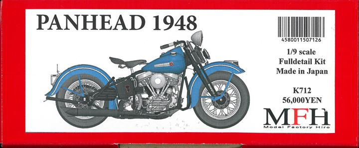 K712  Panhead 1948  1/9scale Fulldetail Kit