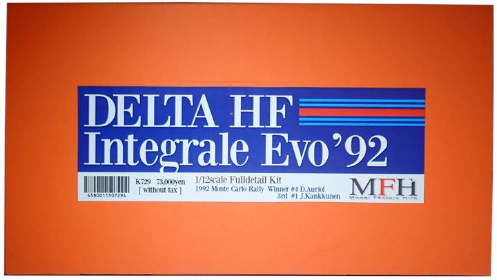 K729  DELTE HF Integrale Evo'92  1/12scale Fulldetail Kit