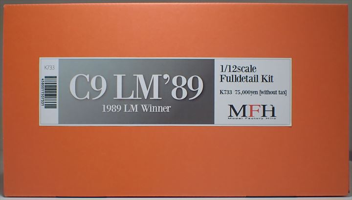 K733  C9 LM'89  1/12scale Fulldetail Kit