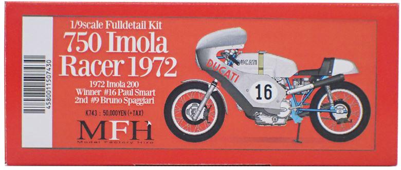 ★MEMBER★ 750 Imola Racer 1972  1/9scale Fulldetail Kit