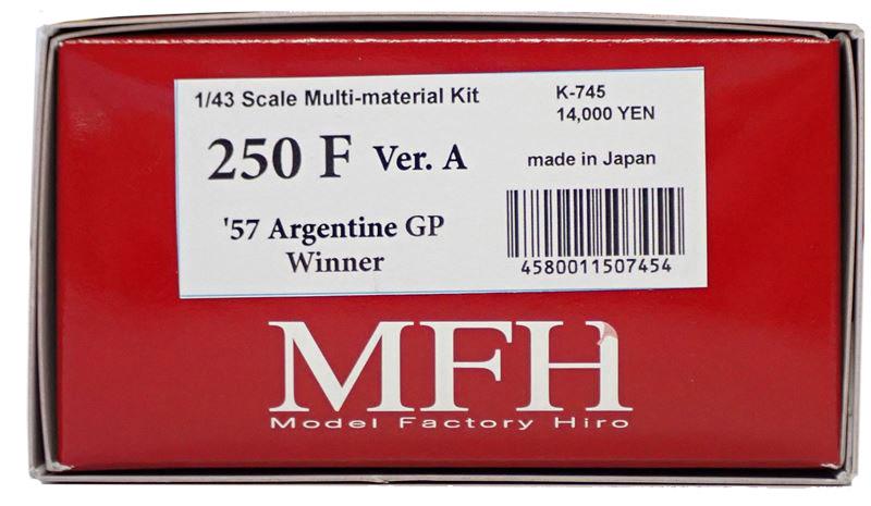 K745 【Ver.A】 250F  1/43sacle Multi-Material Kit