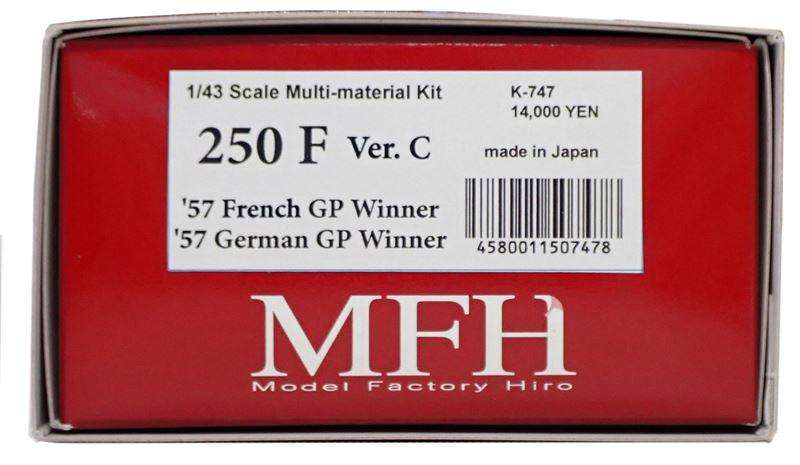 K747 【Ver.C】 250F  1/43sacle Multi-Material Kit