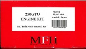 KE004  Engine Kit (エンジンキット): Ferrari 250 GTO Engine  1/12scale