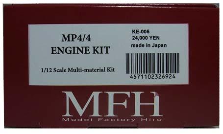 KE005  McLaren MP4/4 Engine  1/12scale Multi-material  Kit