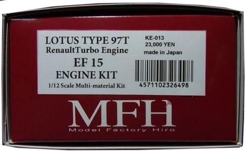 KE013  LOTUS TYPE 97T Engine   1/12scale Engine Kit Series