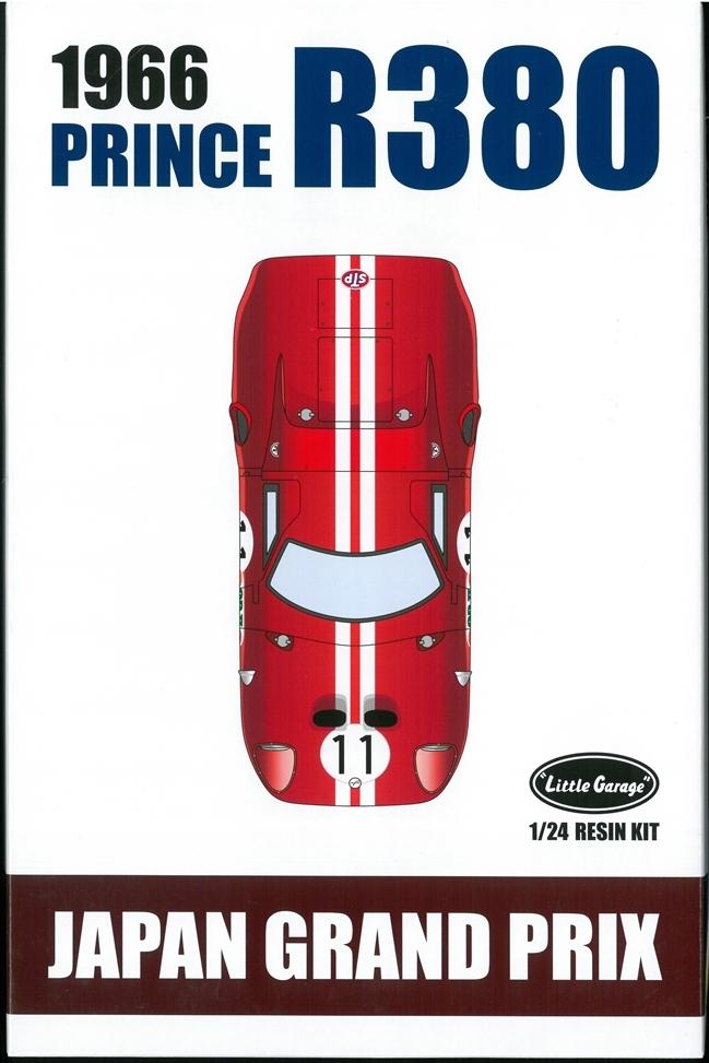LG2401K  PRINCE R380 (1966 JAPAN GP) 1/24scale RESIN KIT