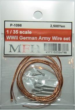P1098 1/35  WWll German Army Wire set