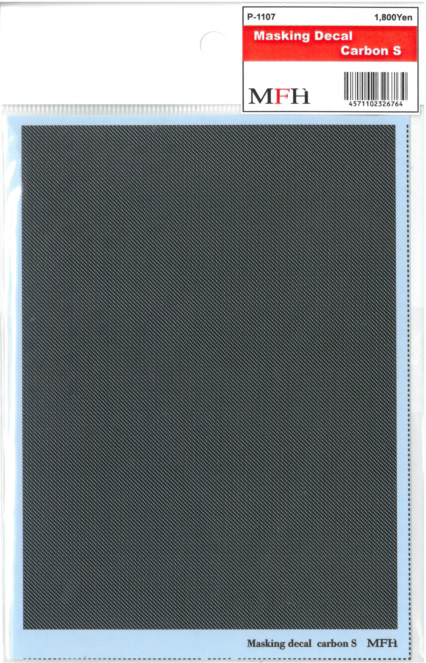 P1107  MASKIG DECAL [Carbon S]   マスキングデカール