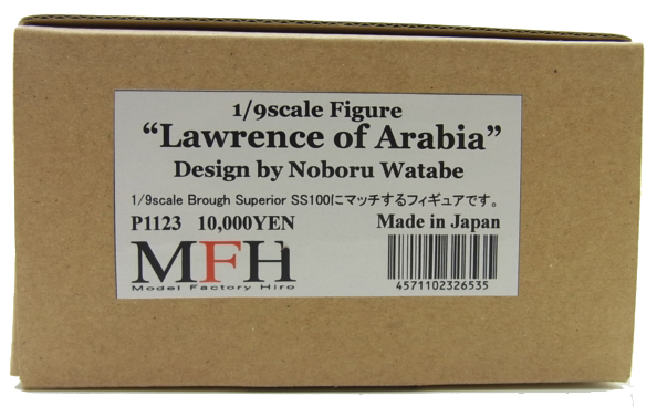 "P1123  1/9 Figure ""Lawrence of Arabia""   1/9フィギュア"