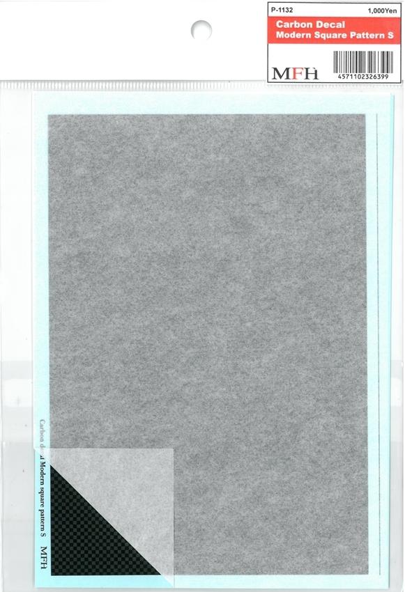 P1132  Modern Square Pattern S   118mmx172mm 1枚入