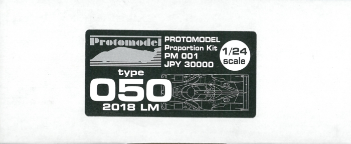 PM001 Type050  2018 LM  1/24scale Proportion kit