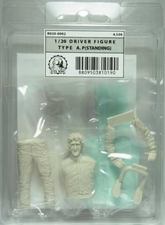 """R020-0002  DIVE NINE Figure Series 1/20scale """"Driver Type A.P [STANDING]"""