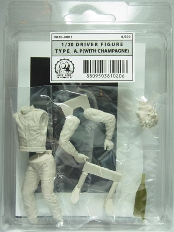 """R020-0003  DIVE NINE Figure Series 1/20scale """"Driver Type A.P [WITH CHAMPAGNE]"""