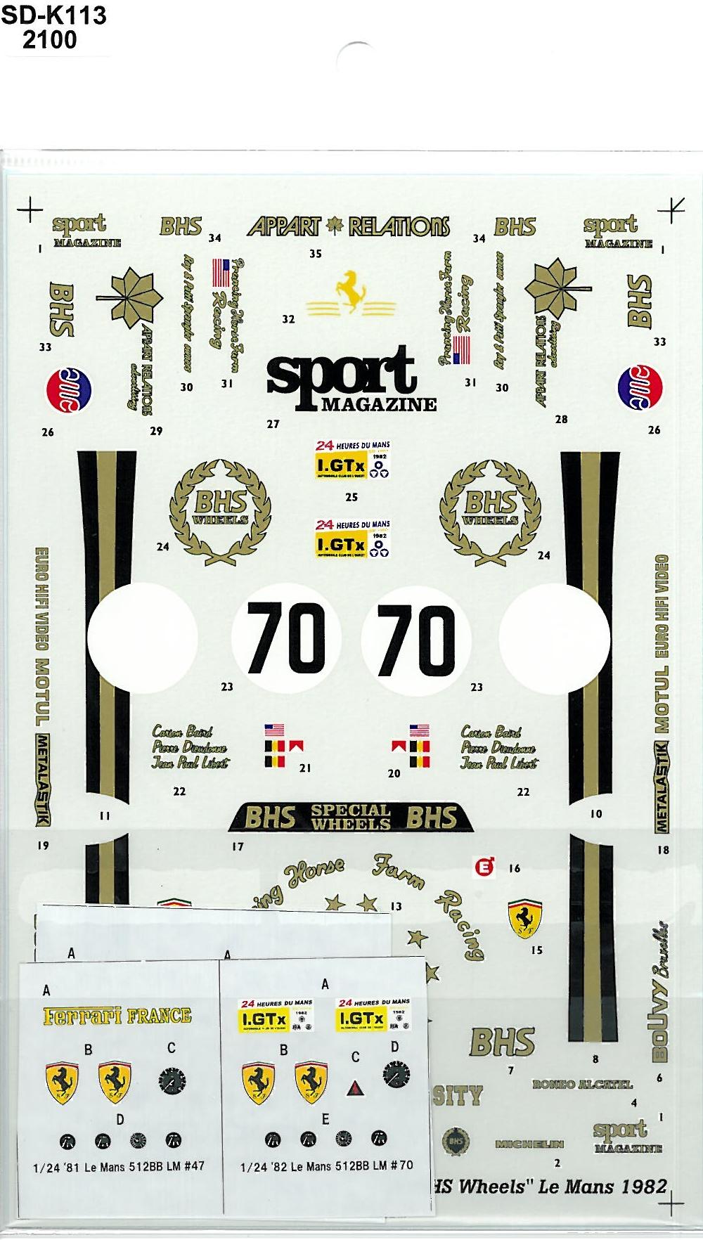 SDK-113 512BB LM CH.POZZI