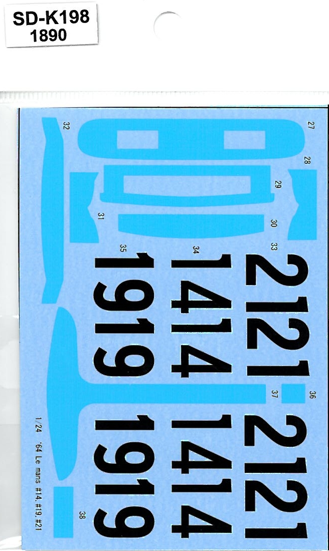 SDK-198 FERRARI 275P '64& 330P '64