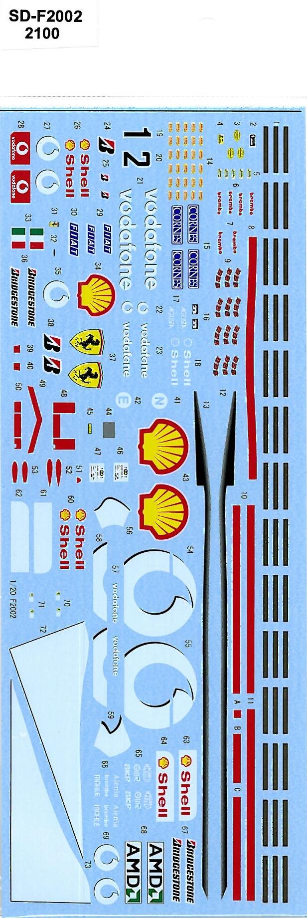 SDK-F2002 FERRARI F2002