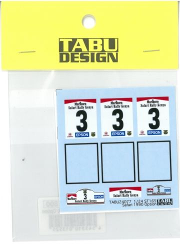 TABU24077 1/24 ST165 Safari 1990 Option  (A社1/24対応)