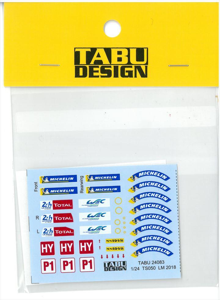 TABU24083  1/24 TS050 LM2018 Option (T社1/24対応)
