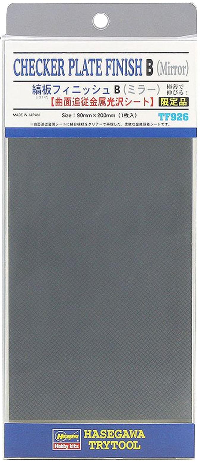 TF926  縞板フィニッシュ B(ミラー) 【曲面追従金属光沢シート】