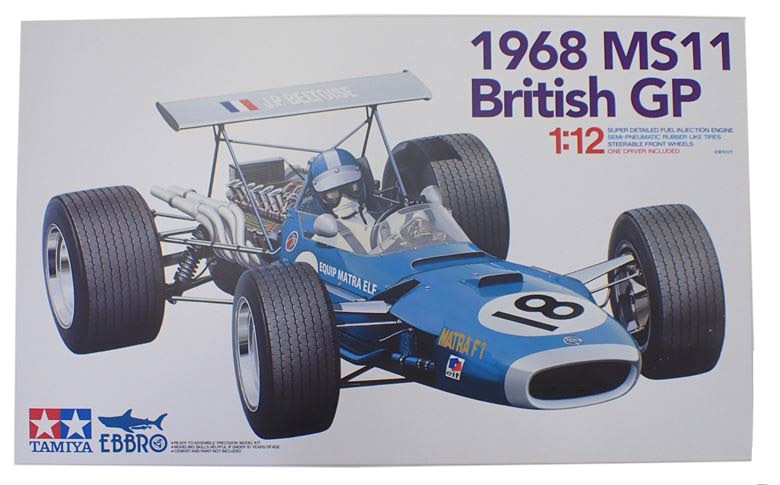 tamiebb1300 1968 MS11 British GP 1/12scale (TAMIYA EBBRO)